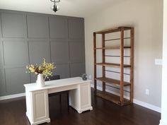 Custom Industrial Farmhouse Bookcase by CharmingFarmhouseCo