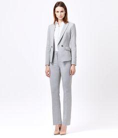 Pure Linen Trouser Suit | Women's Suits | Austin Reed | Richard ...