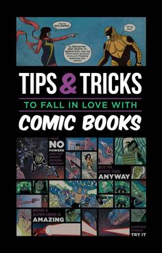 9 Tips And Tricks To Get You Into Comic Books