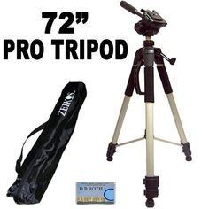 Professional PRO 72 Super Strong Tripod With Deluxe Soft Tripod Carrying Case For The Samsung NX1000 NX210 NX20 Digital Camera *** Want to know more, click on the image.