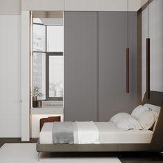 Bedroom #bedroom #modernbedroom #minimalisticbedroom #ideasforbedroom #minimalism #minimalisticarchitecture #minimalisticinterior #architecture #modernarchitecture #design #minimalisticdesign Minimalism, Divider, Room, Furniture, Design, Home Decor, Bedroom, Decoration Home, Room Decor