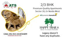 ATS Happy Trails at Noida Extension Greater Noida by ATS Infrastructure Ltd. New Launch project, Residential property starting from Only.