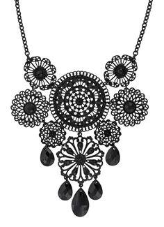Necklace - Black Statement