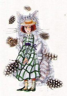 "Szegedi Katalin «Alice Csodaországban» | ""Картинки и разговоры"" Alice In Wonderland 1, Adventures In Wonderland, The Claw, Lewis Carroll, Through The Looking Glass, Bird, Illustration, Ideas, Alice In Wonderland"