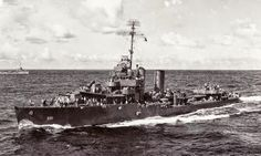 """""""USS MacDONAOUGH"""" (DD-351) was a (341.4') Farragut Class Destroyer – Commissioned: 15 March 1935 – Crew: 160 Officers and Enlisted – Armament: 4 x 5 Inch (127mm) DP Guns (4 Single Mounts) 5 x 20mm Oerlikon AA Guns (5 Single Mounts) 4 x 40mm Bofors AA Guns (2 Twin Mounts) 8 x 21 Inch (533mm) Torpedo Tubes (2 Quad Launch Tubes) and 2 Depth Charge Stern Racks – Decommissioned: 22 October 1945 – Scrapped: 20 December 1946"""