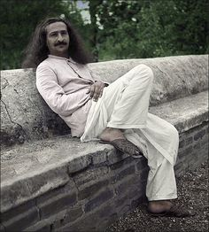 """Meher Baba devoted his life to awakening humanity to the reality of Divine Love. He declared himself to be The Ancient One and God to be the real Self within everyone. His Universal Message begins with the words, """"I have come not to teach but to awaken."""""""