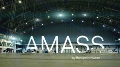 AMASS, walls made by units by Benjamin Hubert.