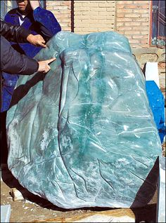 raw jade | rare jade mine has been discovered in north China's Inner Mongolia ...