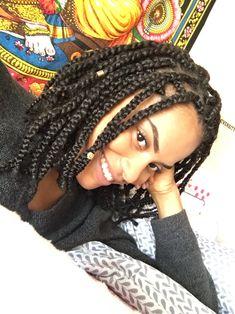 'Linda. Short box braids