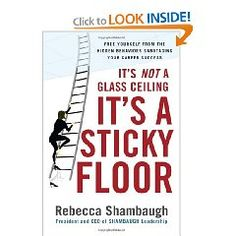 This book by Rebecca Shambaugh gives women in the workforce ideas and advice on how to stand out from the crowd and be promoted (9593)