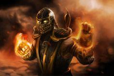 Mortal Kombat 9, Scorpion Mortal Kombat, 2k Wallpaper, Computer Wallpaper, Wallpaper Backgrounds, Windows Wallpaper, Desktop Pictures, Funny Pictures, Video Game Ps4