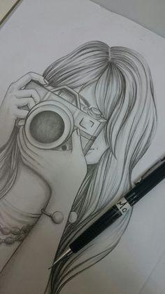 66 new ideas drawing ideas pencil creative people Zeichnungen iDeen ✏️ Dark Art Drawings, Girly Drawings, Pencil Art Drawings, Easy Drawings, Simple Disney Drawings, Cute Drawings Tumblr, Pencil Sketch Drawing, Pencil Sketches Easy, Girl Drawing Sketches