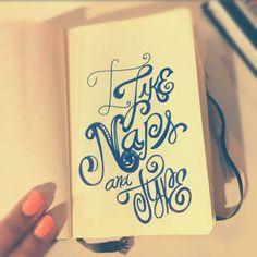I like... #lettering #letteringdaily #doodle #ink #moleskine #type - @magicmaia- #webstagram
