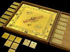 18-karat Gold Monopoly
