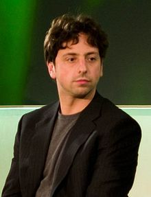 "Sergey Mikhaylovich Brin (born August 21, 1973) is a Russian-born American computer scientist, internet entrepreneur, & philanthropist. Together with Larry Page, he co-founded Google, the worlds most valuable public company. According to Forbes List February 2016, he is jointly one of three people listed as 11th richest in the world (21 overall), with a net worth of US$39.2 billion. The Economist referred to Brin as an "" Enlightenment Man"""