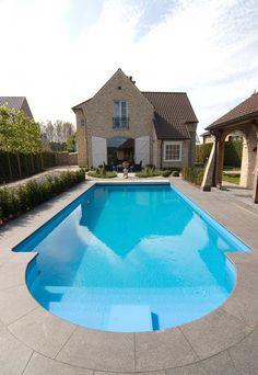 1000 images about zwembad projecten on pinterest met van and jacuzzi - Zwembad kleur liner ...