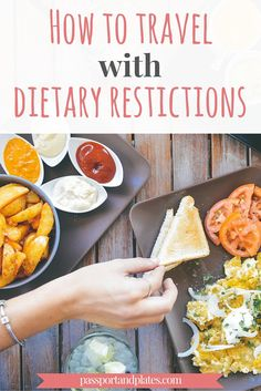 Traveling with a dietary restriction is oftentimes a challenge, but it doesn't have to be! Read these tips on how to travel with dietary restrictions from http://passportandplates.com
