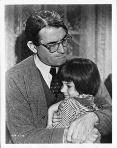 Gregory Peck has to be the best movie dad ever! (: He has everything and To Kill A Mocking Bird happens to be my favorite movie as well (: