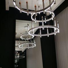 Tech lighting fiama led chandelier tech lighting pinterest the tech lighting fiama is a modern take on a chandelier aloadofball Gallery