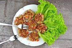 Fit kotlety mielone z kurczaka na ostro | – Dietetyczne przepisy – Tandoori Chicken, Mozzarella, Chili, Ethnic Recipes, Food, Chile, Essen, Meals, Chilis