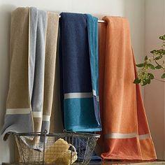 Company Cotton Color Block Towels