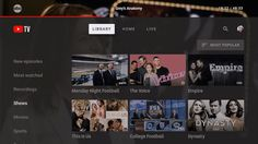 Google's YouTube TV app launches on Android TV Apple TV Smart TVs and Xbox One. #Mac #macOS #Apple @NEWsEden  #NEWsEden
