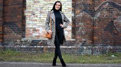 Płaszcz w panterkę - Stylizacja + Z czym nosić panterkę?