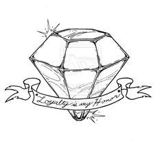 Diamond_Tattoo_by_ckirkillustr8.jpg 800×722 pixels