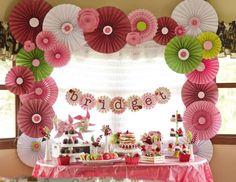 Bridget's Strawberry Shortcake Inspired 3rd Birthday