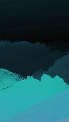 Dark Teal Iphone Wallpaper, Black And Blue Wallpaper, Minimal Wallpaper, Abstract Iphone Wallpaper, Apple Wallpaper Iphone, Free Phone Wallpaper, Mobile Wallpaper, Beach Wallpaper, Cool Wallpapers Dark