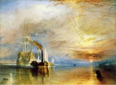 Joseph Mallord William Turner - The Fighting Temeraire The National Gallery, London Joseph Mallord William Turner, At-at Walker, Starwars, Art Romantique, Turner Painting, Star Wars Painting, Painting Art, Poesia Visual, National Gallery