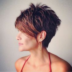 This category present you various trendy short hairstyles. You can find different trendy short haircuts and short trendy hairstyles. Cute Hairstyles For Short Hair, Pixie Hairstyles, Trendy Hairstyles, Short Hair Cuts, Short Pixie, Pixie Haircuts, Pixie Cuts, Pixie Bob, Fringe Hairstyles