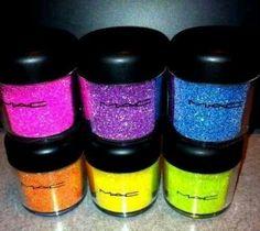 #MAC, #Glitter!