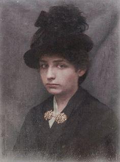 Camille Claudel c.1889.