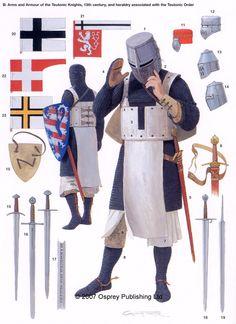 Teutonic Knight, XII c.