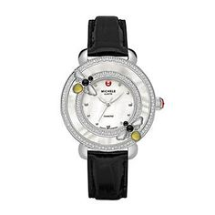Michele Colette #Bee Diamond Strap Watch from Borsheims.