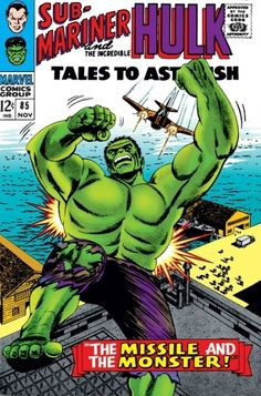 Tales to Astonish #85 - --And One Shall Die/ The Missile And The Monster!