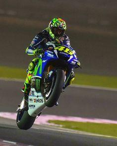 #Happy #Wheeliewednesday ✊ ✊ ✊ #ValentinoRossi #legend #MotoGP