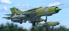 MiG-21bis Fishbed L Ilmavoimat (Petr Štěpánek)