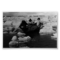 #Buy #purchase #digital #photography #photograph #photo #picture #image #print #1970s #1970 #download #file #antique #old #vintage #archive #historic #historical #hight #resolution #bw #black #white #stock #collection #licence #royalty #free #RF  America USA Alaska Eskimo hunters  $9.95