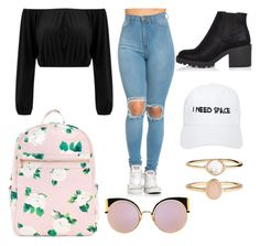 """""""👄"""" by mxvdx on Polyvore featuring mode, River Island, NASASEASONS, Fendi en Accessorize"""