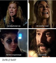 The 100 parallels The 100 Quotes, The 100 Clexa, The 100 Show, Destroyer Of Worlds, Lock Screens, Bellarke, I Love Girls, Quote Aesthetic, Favorite Tv Shows