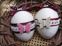 . Eggs, Easter, Crafts, Manualidades, Egg, Handmade Crafts, Arts And Crafts, Craft, Artesanato