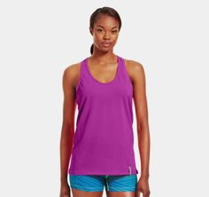 Women's UA Fly-By Stretch Mesh Tank | 1228220  by Under Armour US