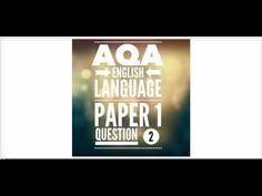 AQA GCSE English Language Paper 1 Question 2 - YouTube