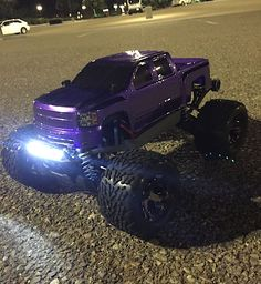 4x4 Traxxas stampede VXL Brushless. Many up grades running on a 2c 50c battery. More self painted Body's to come. @ecogems on Instagram