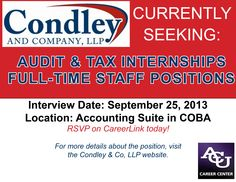 COBA Students-- take a look at this job opportunity!