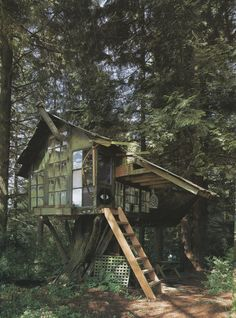 It's run by Mohican Cabins, a campground that includes a mix of luxury cabins and tree houses, and was built by tree house genius Pete Nelson. Description from pinterest.com. I searched for this on bing.com/images