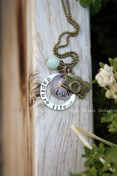 #photographer #necklace by Mya Bruce Designs
