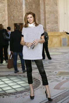 Virginie Mouzat at Louis Vuitton, Paris - The Sartorialist